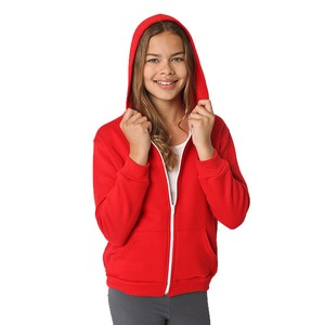 American Apparel Youth Unisex Flex Fleece Zip Hoodie