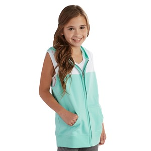 Boxercraft Youth Unisex Sleeveless Hoodie