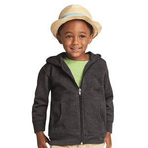 Rabbit Skins Kids' Unisex Zip Fleece Hoodie