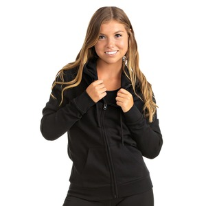 Ladies Core Fleece Full Zip Hoodie