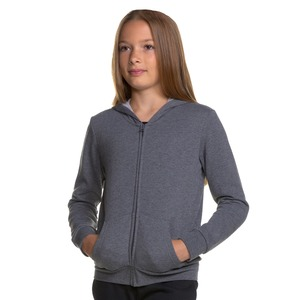Girls Core Fleece Full Zip Hoodie