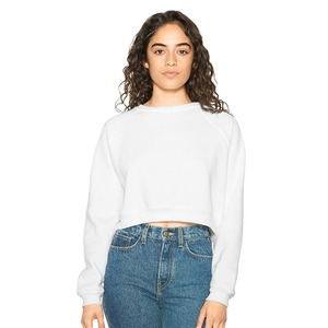 American Apparel Flex Fleece Crop Pullover