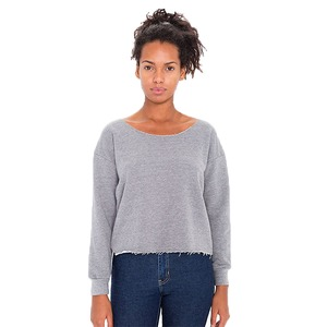 American Apparel Ladies Heavy Terry Cropped Sweatshirt