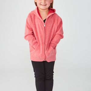 Toddler Lightweight Retail Blend Raglan Zip Hoodie