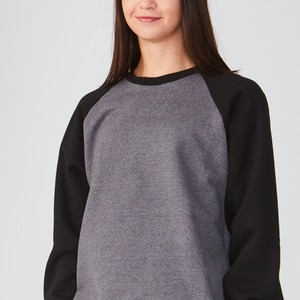 Studio Essentials Unisex Adult Raglan Crewneck