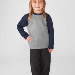 Studio Essentials Unisex Toddler Raglan Crewneck