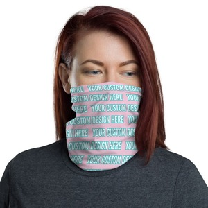 Personalized All Over Printed Face Mask & Neck Gaiter