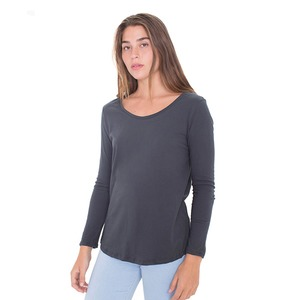 American Apparel Long-Sleeve Ultra Wash T-Shirt