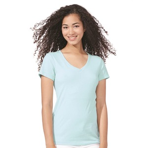 Next Level Ladies' Sueded Short Sleeve V