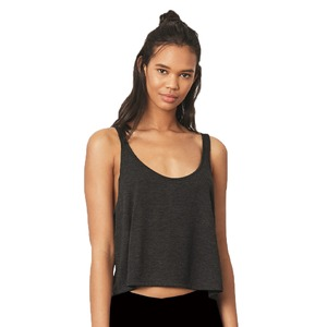 Bella + Canvas Ladies' Flowy Boxy Crop Tank