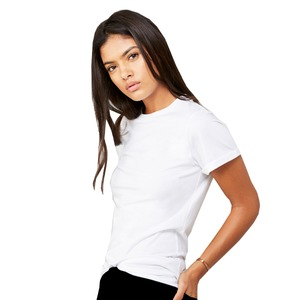 Bella + Canvas Fast Fashion Unisex Jersey Rolled Cuff Tee