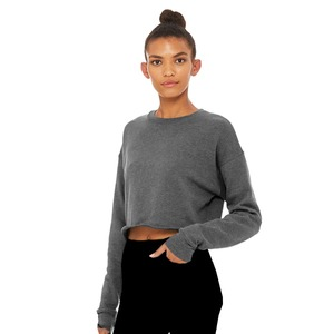 Bella + Canvas Ladies Cropped Crew Fleece