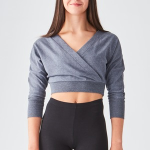 Studio Wrap Crop Top